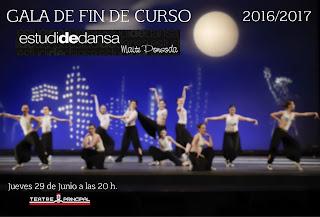 Dijous 29 de juny, 20.00 h Fi de Curs Estudi de Dansa de Maite Ponsoda