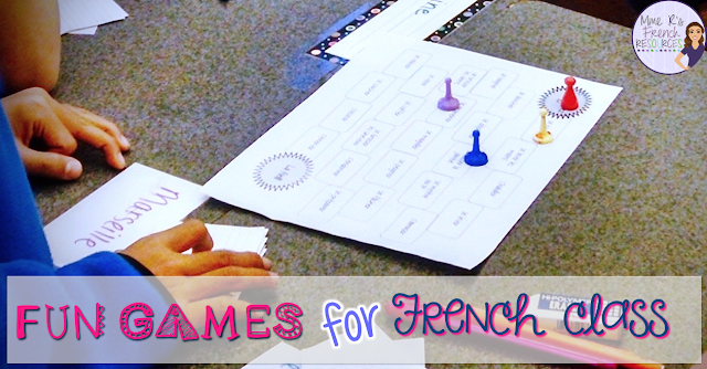 Teach French grammar and vocabulary with these fun games!
