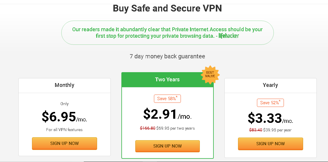 High speed unlimited vpn