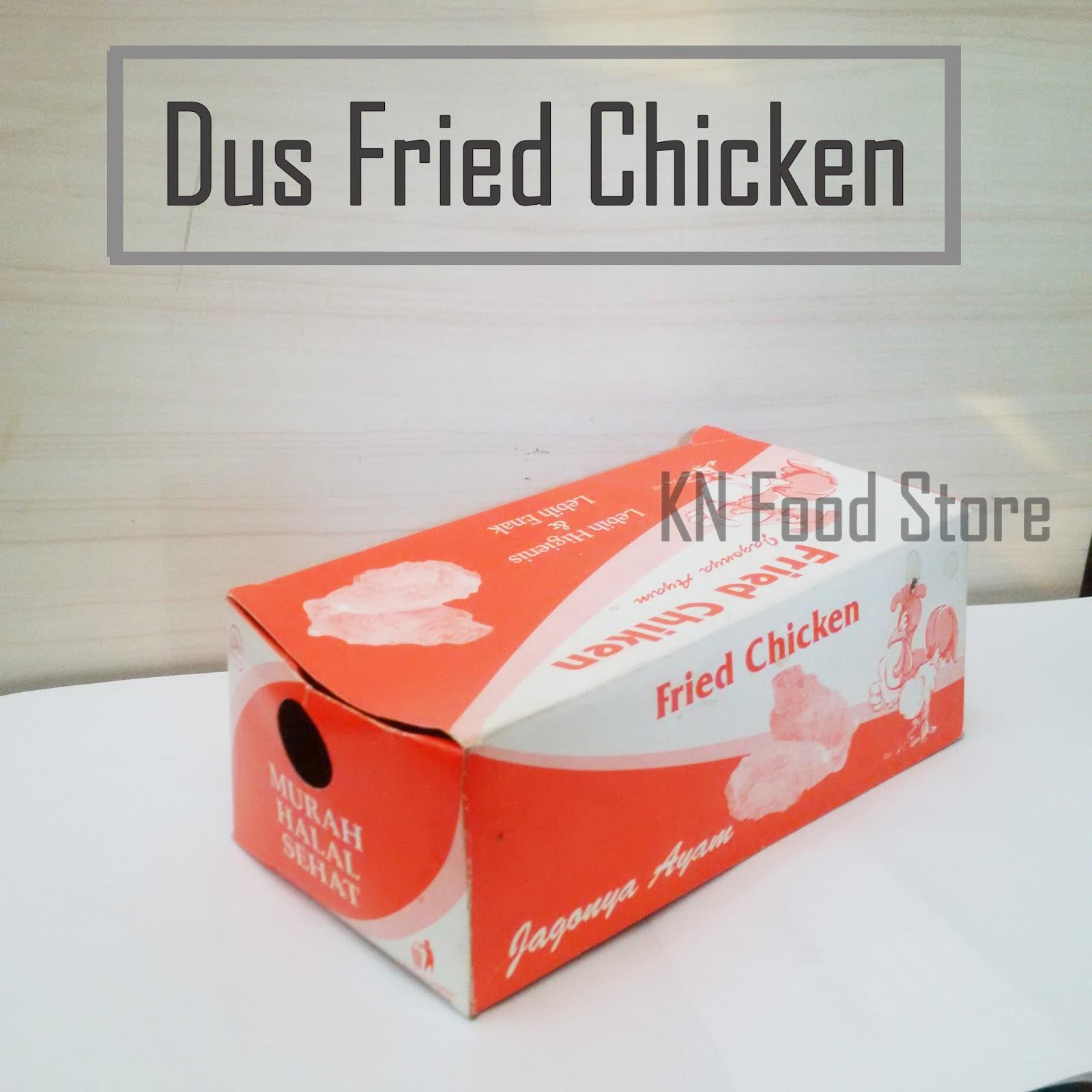 Kardus Fried Chicken | Supplier Bahan Baku Kebab
