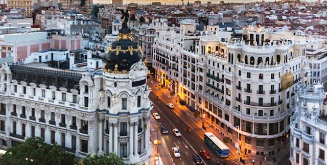 Bairro Sol-Gran Vía em Madri