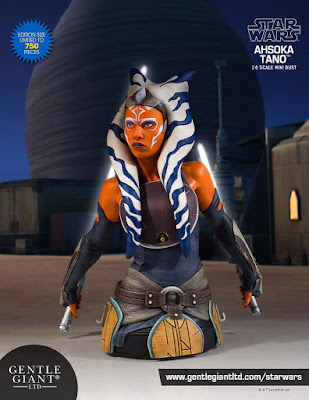 Star Wars Ahsoka Tano Mini Bust by Gentle Giant