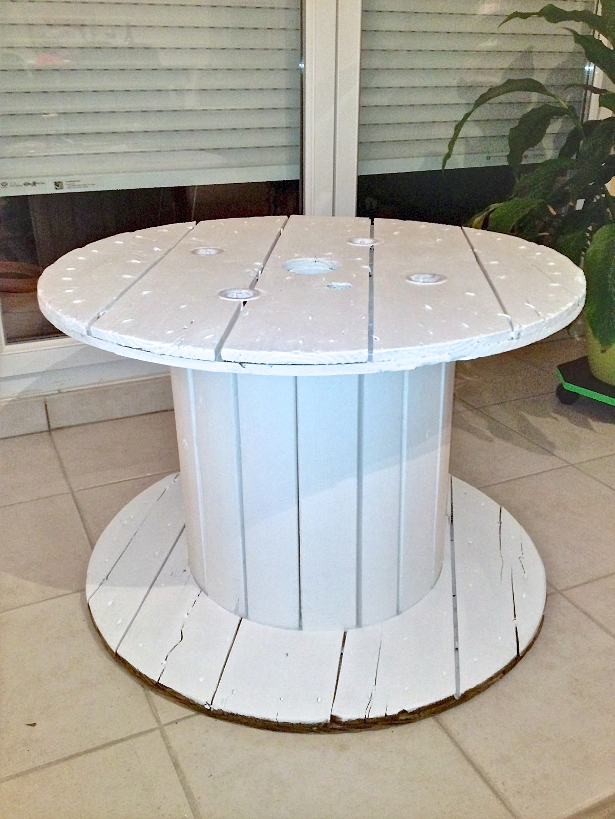 Table basse laque blanc Cdiscount