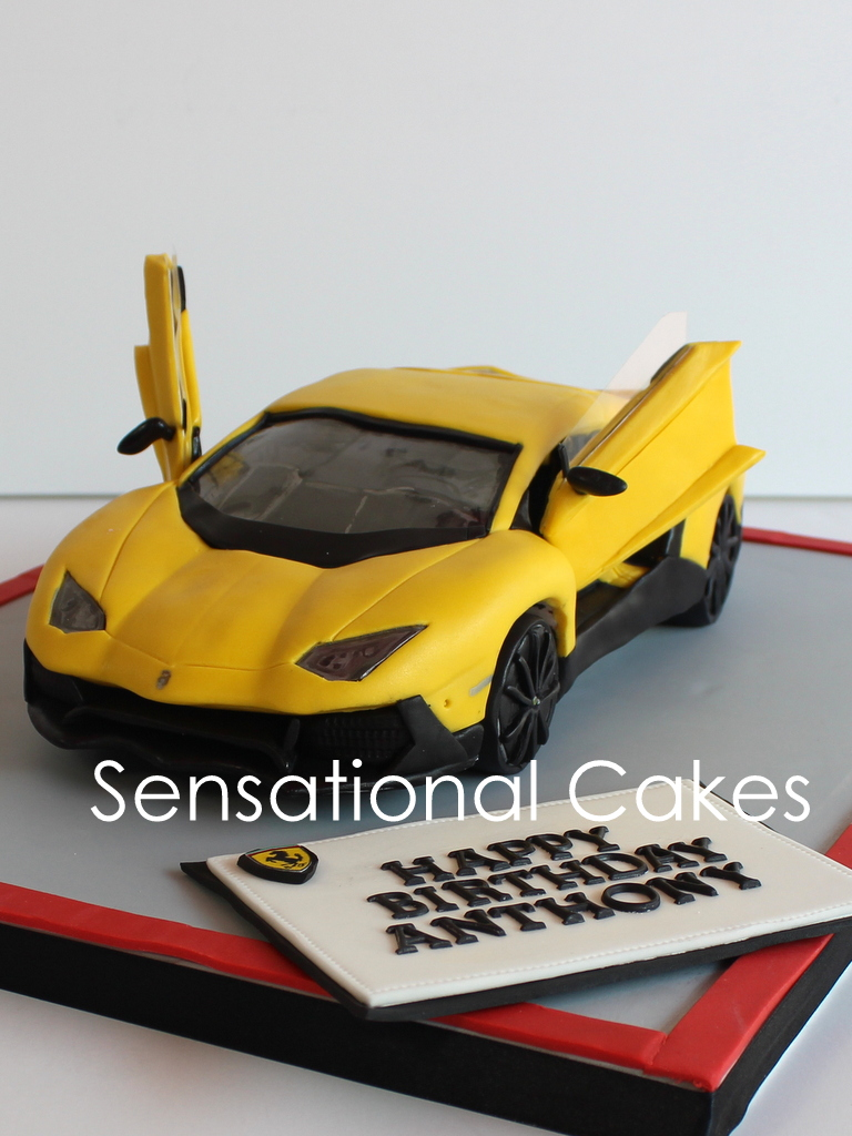 The Sensational Cakes How About 2 But Not 1 Sport Cars
