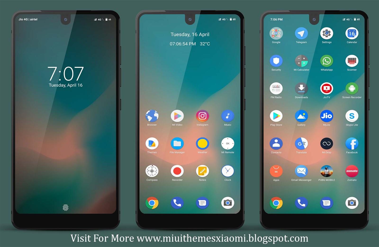 Redmi Go Edition MIUI Theme Download For Xiaomi Mobile