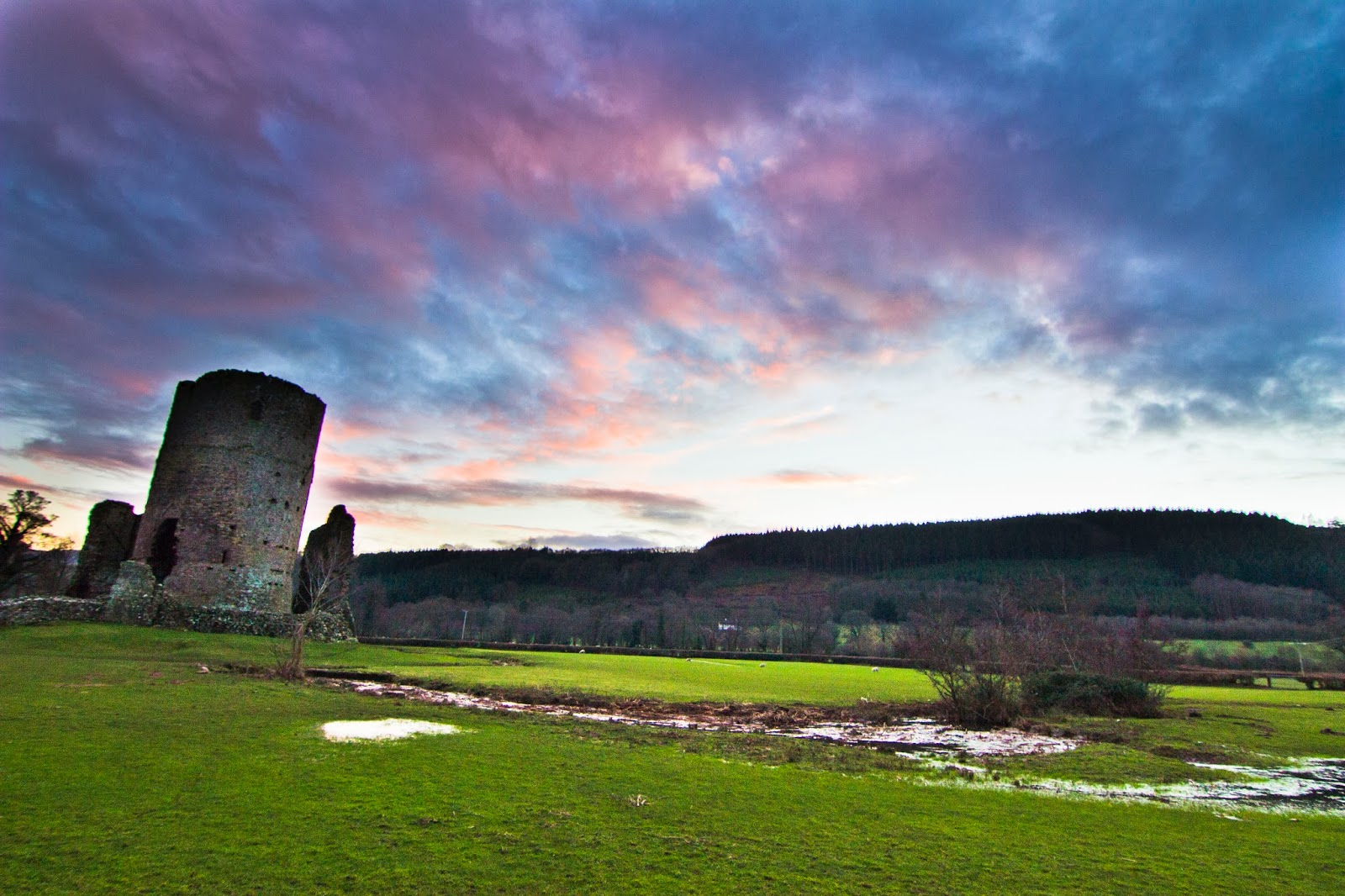 Tretower (Breacon Beacons, South Wales)