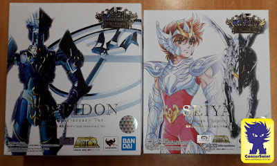 Recibidos Poseidon 15th Anniversary Ver. y Pegaso Heaven Chapter  Myth Cloth
