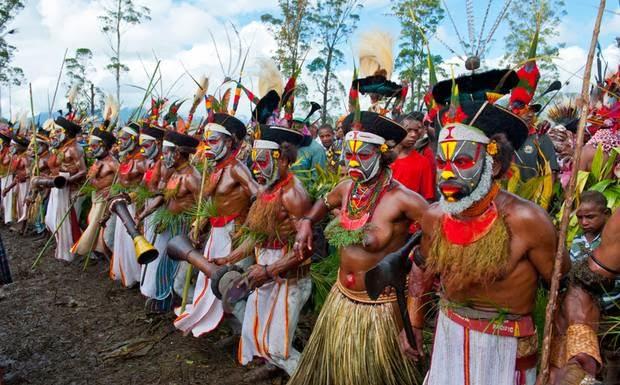 Rive Il Mondo Delle Isole Papua Nuova Guinea