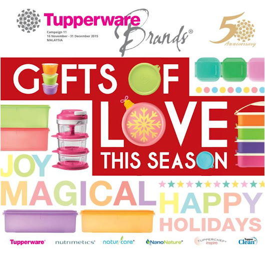 Tupperware Catalog 16 November 2015 - 31 December 2015 | Tupperware Kakakshop | Tupperware Malaysia | Tupperware Catalog | Tupperware Product