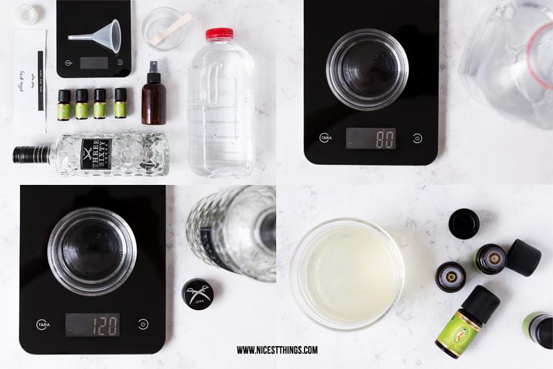 Entspannendes DIY Kissenspray selber machen Rezept