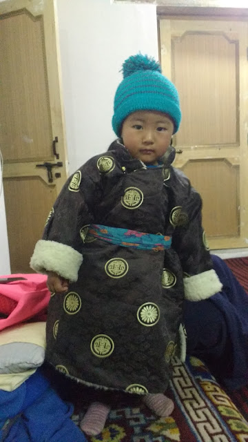local Ladakhi traditional dress