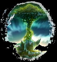 Tenroujima é uma ilha em cima de outra ilha. Além de possuir um grande poder mágico, é considerada a terra sagrada da Fairy Tail, pois é onde o primeiro mestre da guilda, Mavis Vermilion, está enterrado. Segundo Makarov, há anos fadas costumavam viver por ali. A ilha possui vários animais selvagens e normalmente fica escondida por uma forte barreira mágica, não podendo ser encontrada, não importa que tipo de magia seja usada. Existe a grande árvore Tenrou que cresce no centro da ilha. Ela dá uma proteção divina àqueles que carregam a marca da Fairy Tail em seu corpo. Há um poder especial nessa Terra que aumenta a magia dos magos da guilda.