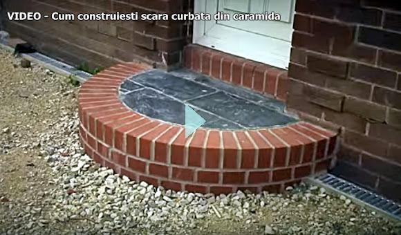 construieste scara curbata exterior