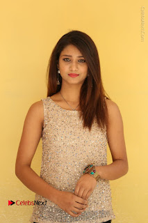 Tollywood Upcoming Actress Arthi Stills in Black Skirt at Plus 1 Movie Trailer Launch  0006.JPG