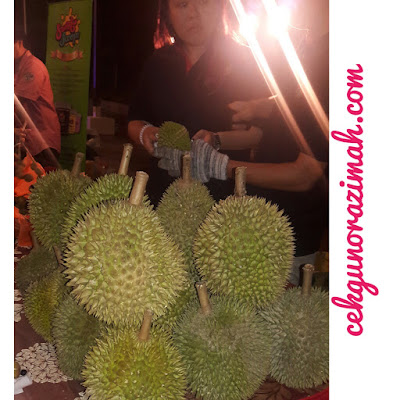 food review, makan durian, bangi golf resort, buffet ramadhan