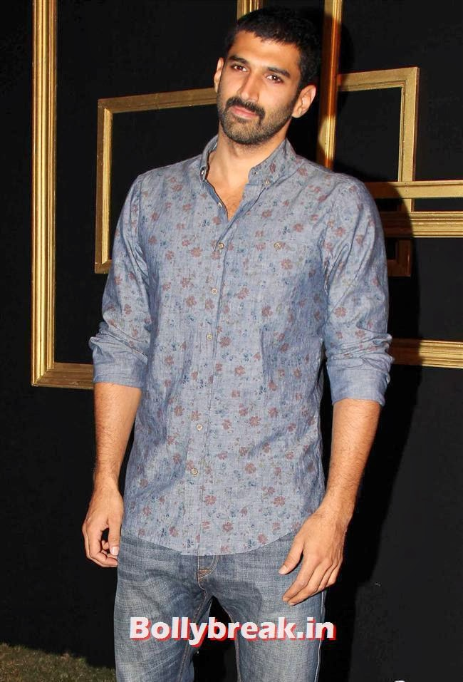 Aditya Roy Kapoor, All Bollywood Celebs at Deepika Padukone Golden Party