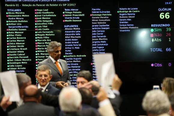 O parecer de Bonifácio de Andrada foi aprovado por 39 votos a 26, com uma abstençãoArquivo/Agência Brasil