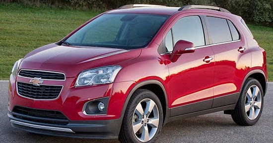 Burlappcar: 2015/16 Chevrolet Trax. Coming to the US