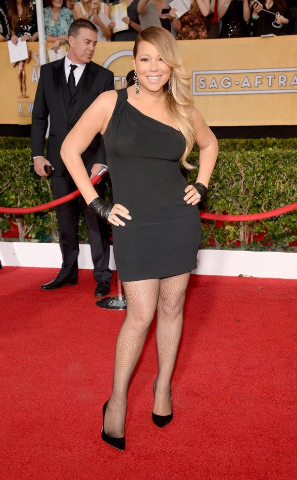 Mariah Carey sag awards 2014