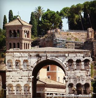 Arco de Jano al Velabro