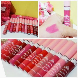 Lipcream ETUDE SOFT MATTE Rose Tint Waterproof