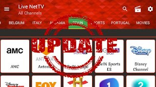 أحدث نسخة من تطبيق live net tv بواجهة جميلة وسهلة ومجموعه هائلة جدا من القنوات العربية والاجنبية وكدا الافلام ، وسريع جدا اثناء مشاهدة البث المباشر