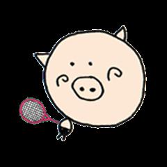 Bookichi play tennis