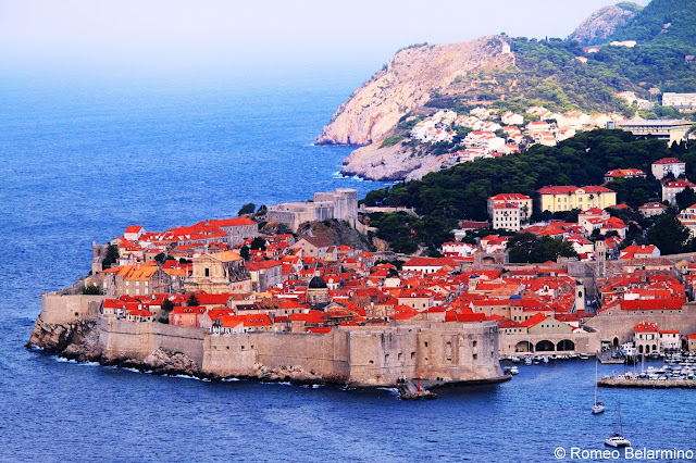 Walled Old City of Dubrovnik Croatia