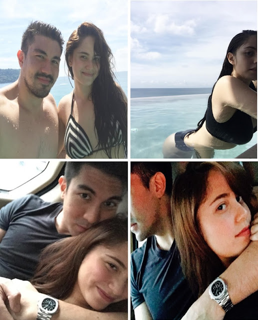 Controversial Couple Took Some Time Off At The Beach! Is Luis Manzano And Jessy Mendiola Now Official?