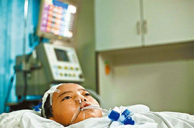Médicos honran a niño chino por donar sus organos.