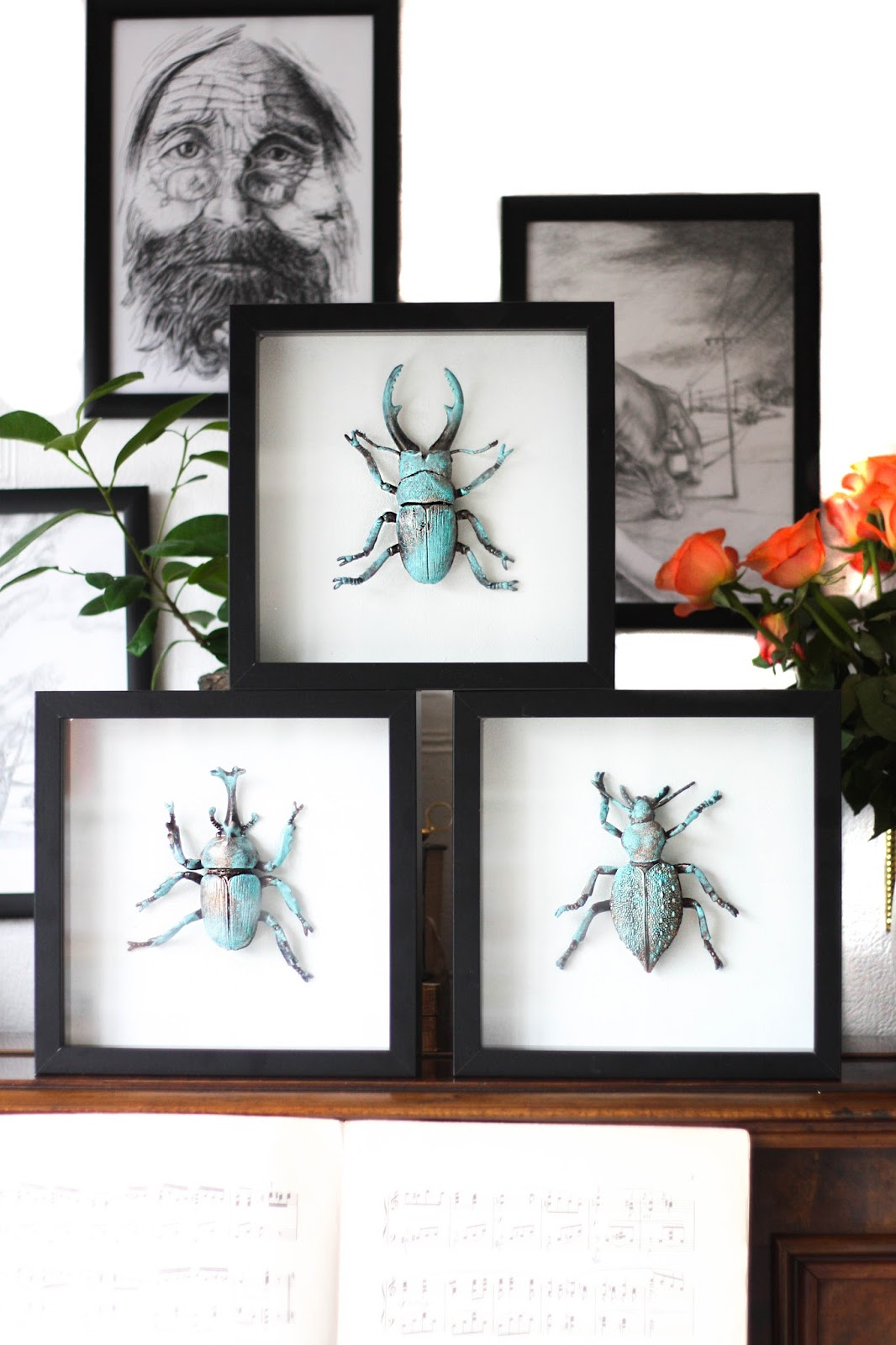 DIY entomology: Faux taxidermy bugs