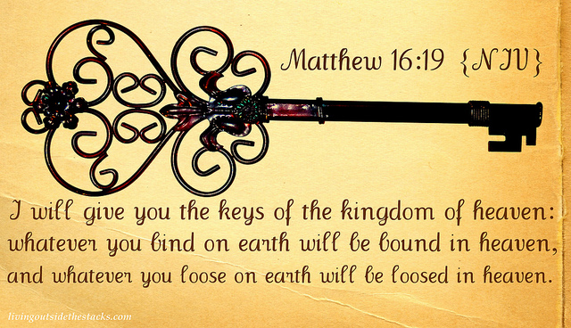 Image result for Matthew 16:19