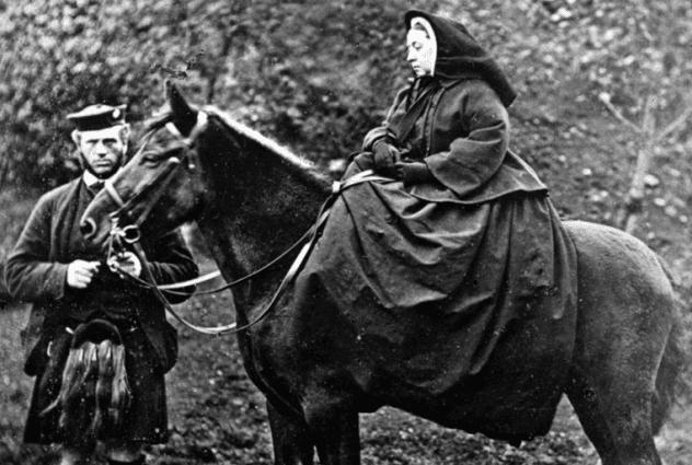 Mbretëresha Viktoria dhe Xhon Braun