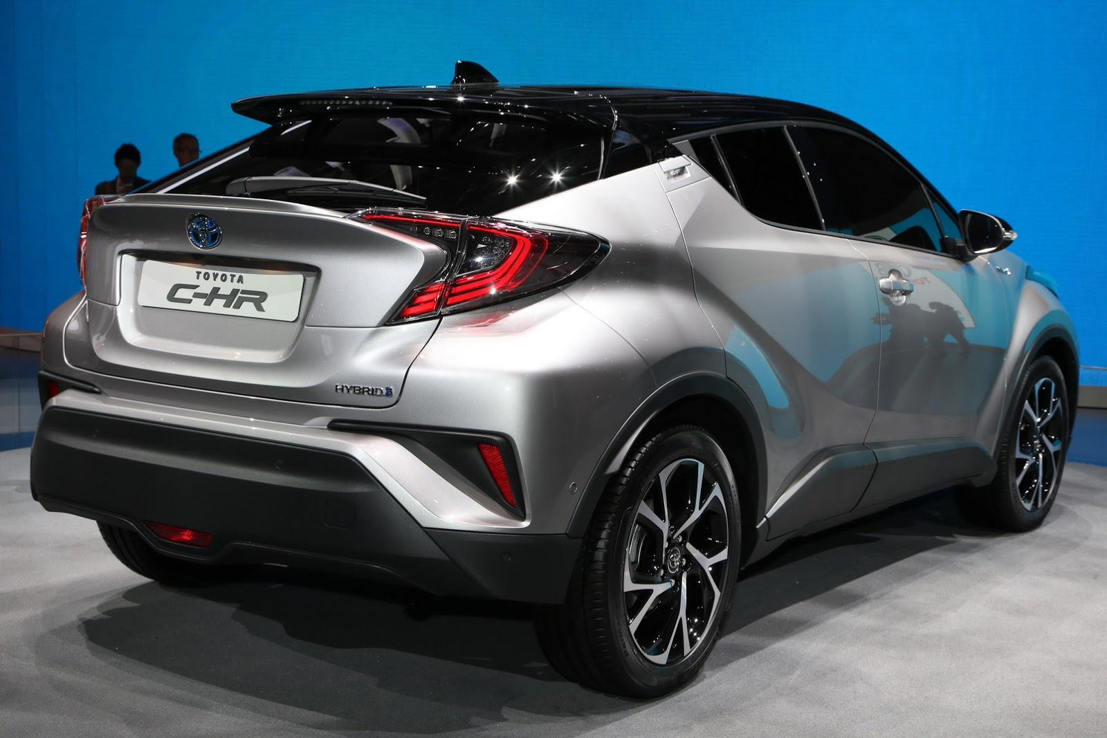 new toyota c-hr gets 1.2l turbo, 2.0l and 1.8l hybrid powertrains