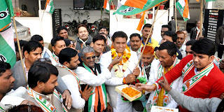 भाजपा पार्टी को जनता ने दिखाई उसकी जमीनी हकीकत : ललित नागर