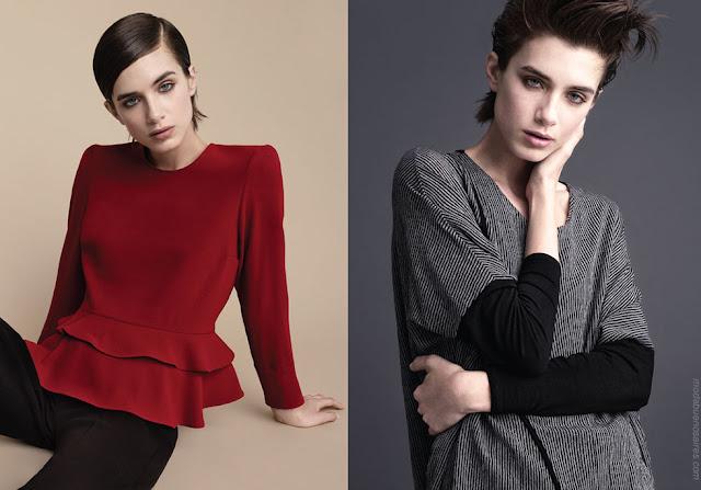 Moda otoño invierno 2018 blusas y abrigos. Moda mujer otoño invierno 2018.