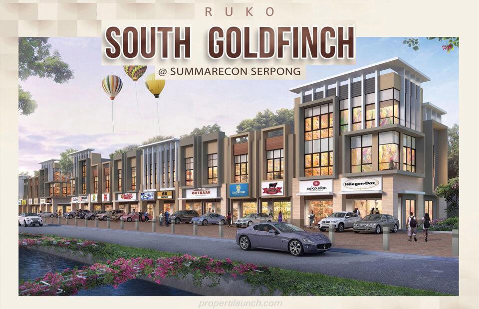 Dijual Ruko South Goldfinch Gading Serpong