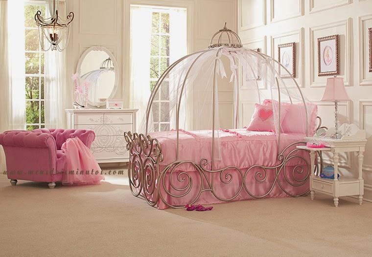 Decoração Design de Quarto de Menina Princesa ~ Quarto Rosa De Princesa