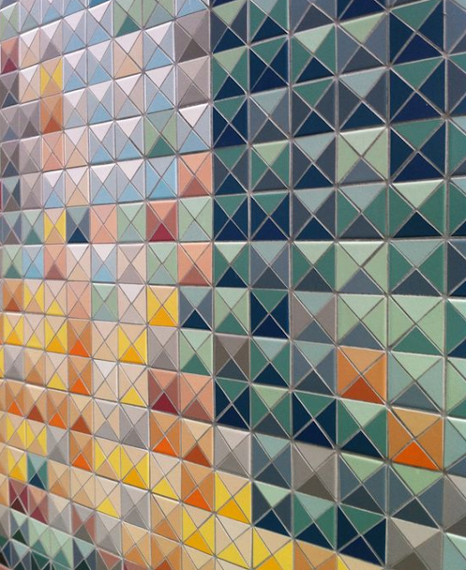 Tiles as Quilt Inspiration | Hourglass Tiles | Shannon Fraser Designs