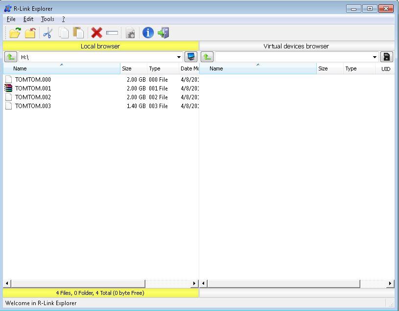 Cómo hacer backup de su tarjeta SD del R-LINK