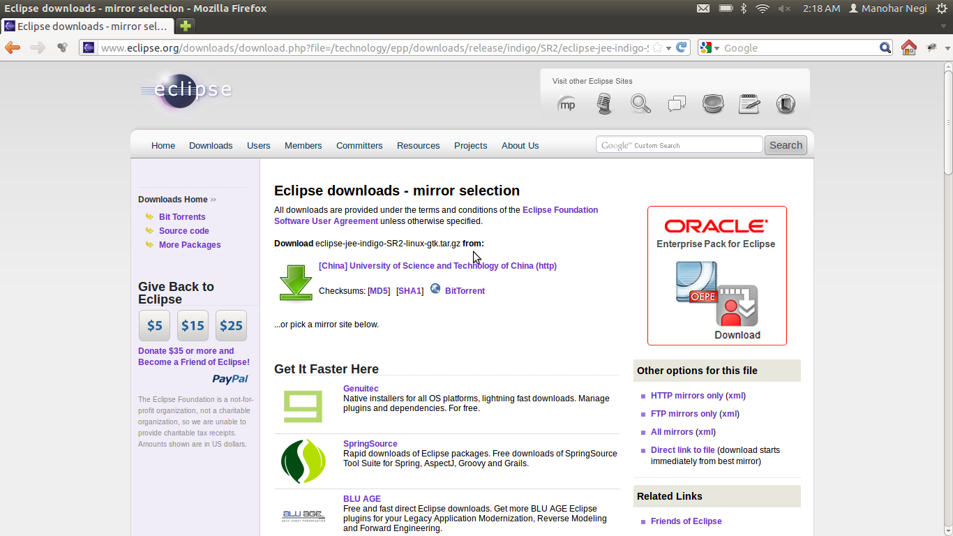 Try These Eclipse Indigo Download For Windows 8 1 64 Bit
