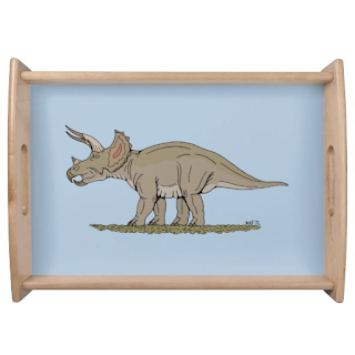http://www.zazzle.com/triceratops_serving_tray-256681660024621965