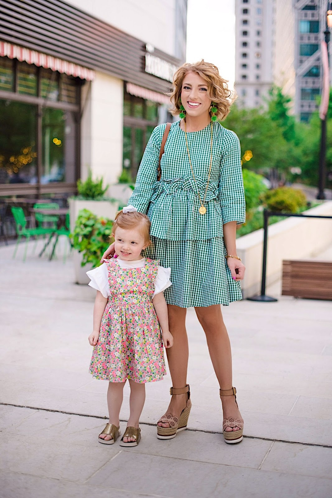 Mommy & Me Spring Style - Something Delightful Blog
