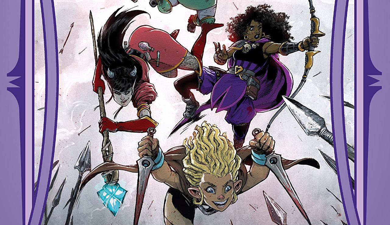 rat queens tom 5, non stop comics, recenzja komiksu, kurtis j. wiebe