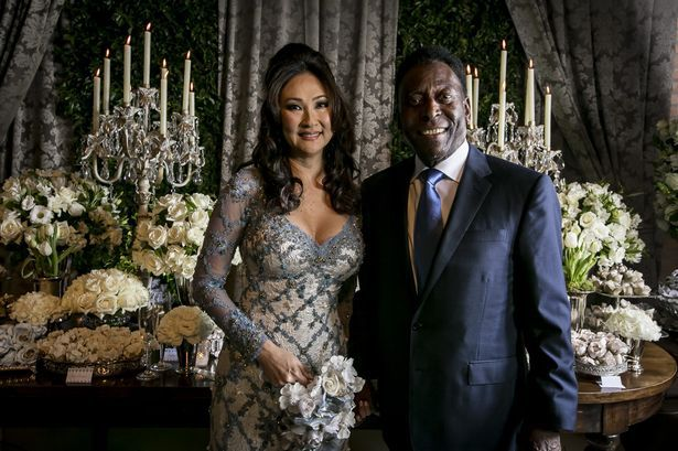 World Stars Wedding Photos: Football legend, Pele marries for a third time at age 75