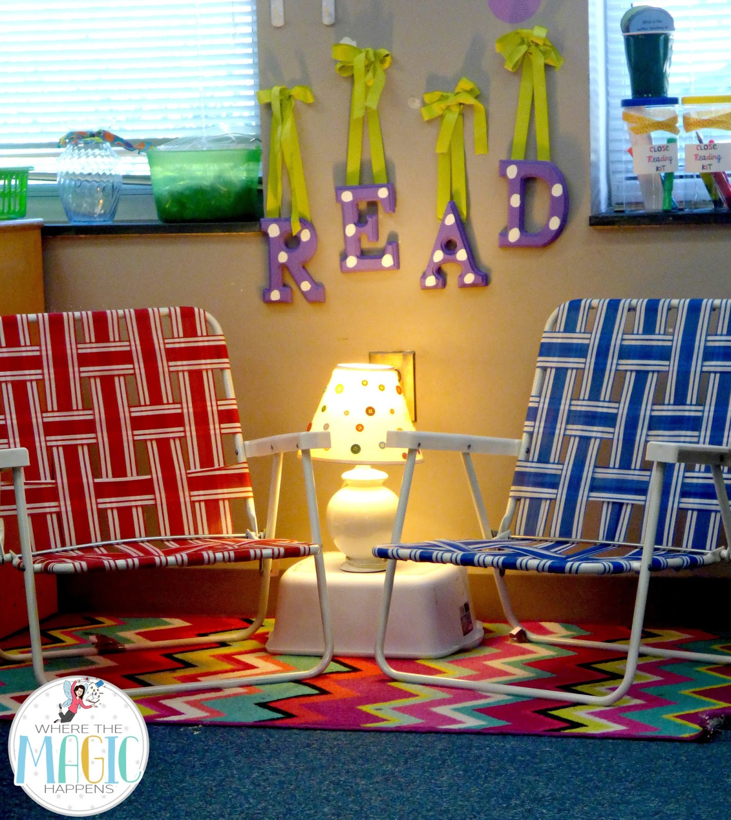Classroom Library Decorating Ideas ~ Where the magic happens is your classroom happy place