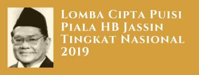 Lomba Cipta Puisi Piala HB Jassin Tingkat Nasional 2019