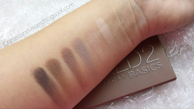 Naked Basics 2 Urban Decay Swatches