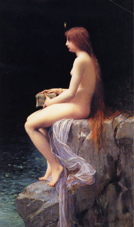 Pandora - Jules Joseph Lefebvre.
