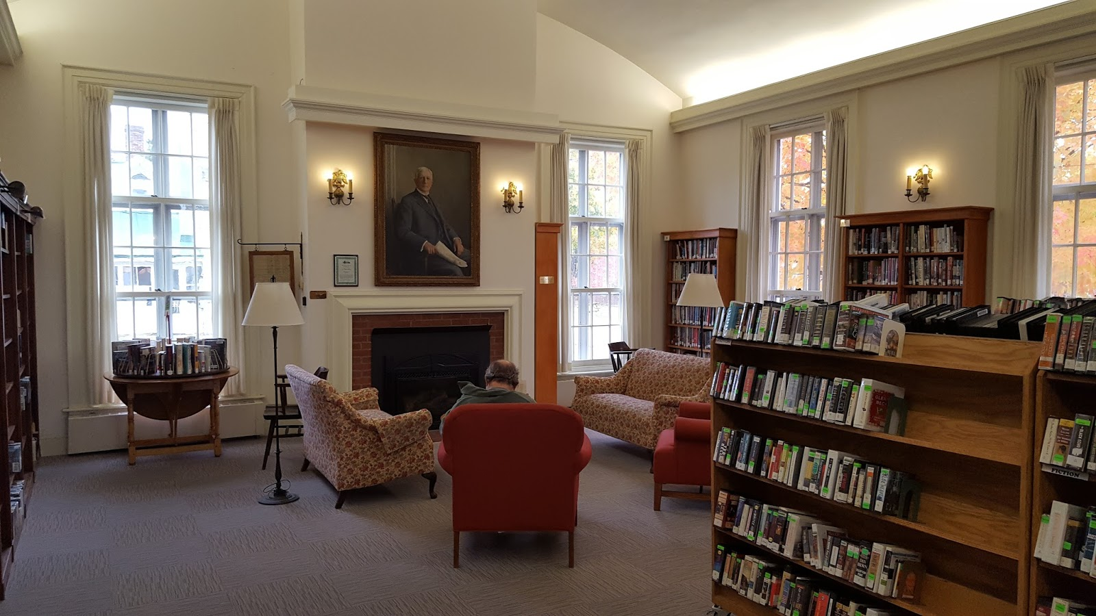 Library matters vermont for The family room vermont